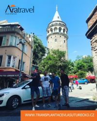 Galatská věž z roku 1348 postavená Itali