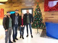 Serkan slaví na klinice Vánoce :)