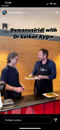 Dr. Serkan Aygin a Emanuele Ridi